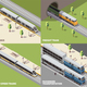 Train Railway Isometric Concept - GraphicRiver Item for Sale
