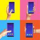 Realistic Gadgets Hands Design Concept - GraphicRiver Item for Sale