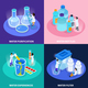 Water Purification Isometric Icon Set - GraphicRiver Item for Sale