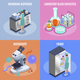 Microbiology Icon Set - GraphicRiver Item for Sale
