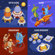 Aliens Isometric Composition - GraphicRiver Item for Sale