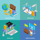 Online Education Concept Icons Set - GraphicRiver Item for Sale