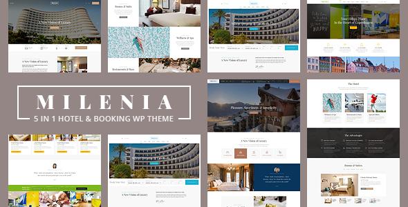 Milenia - Hotel & Booking WordPress Theme - Travel Retail