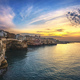 Polignano a Mare village at sunset, Bari, Apulia, Italy. - PhotoDune Item for Sale
