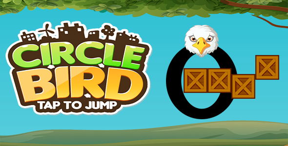Circle Bird Jump + Ready For Publish + Endless Game Play + Android - CodeCanyon Item for Sale