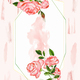 Watercolor roses background - PhotoDune Item for Sale