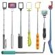 Selfie Stick Vectors - GraphicRiver Item for Sale