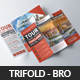 Tour Travel Trifold Brochure - GraphicRiver Item for Sale