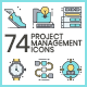 Project Management Icons - Aqua Series - GraphicRiver Item for Sale