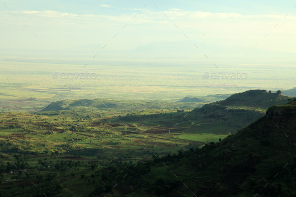 Rural Landscape - Uganda, Africa - Stock Photo - Images