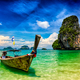 Long tail boat on beach, Thailand - PhotoDune Item for Sale