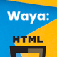 Waya - Multipurpose Creative HTML Template - ThemeForest Item for Sale