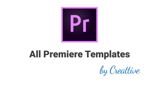 All Premiere Pro Templates