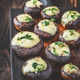 Baked mushrooms stuffed with mozzarella - PhotoDune Item for Sale
