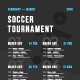 Sport Schedule Event Poster Template - GraphicRiver Item for Sale