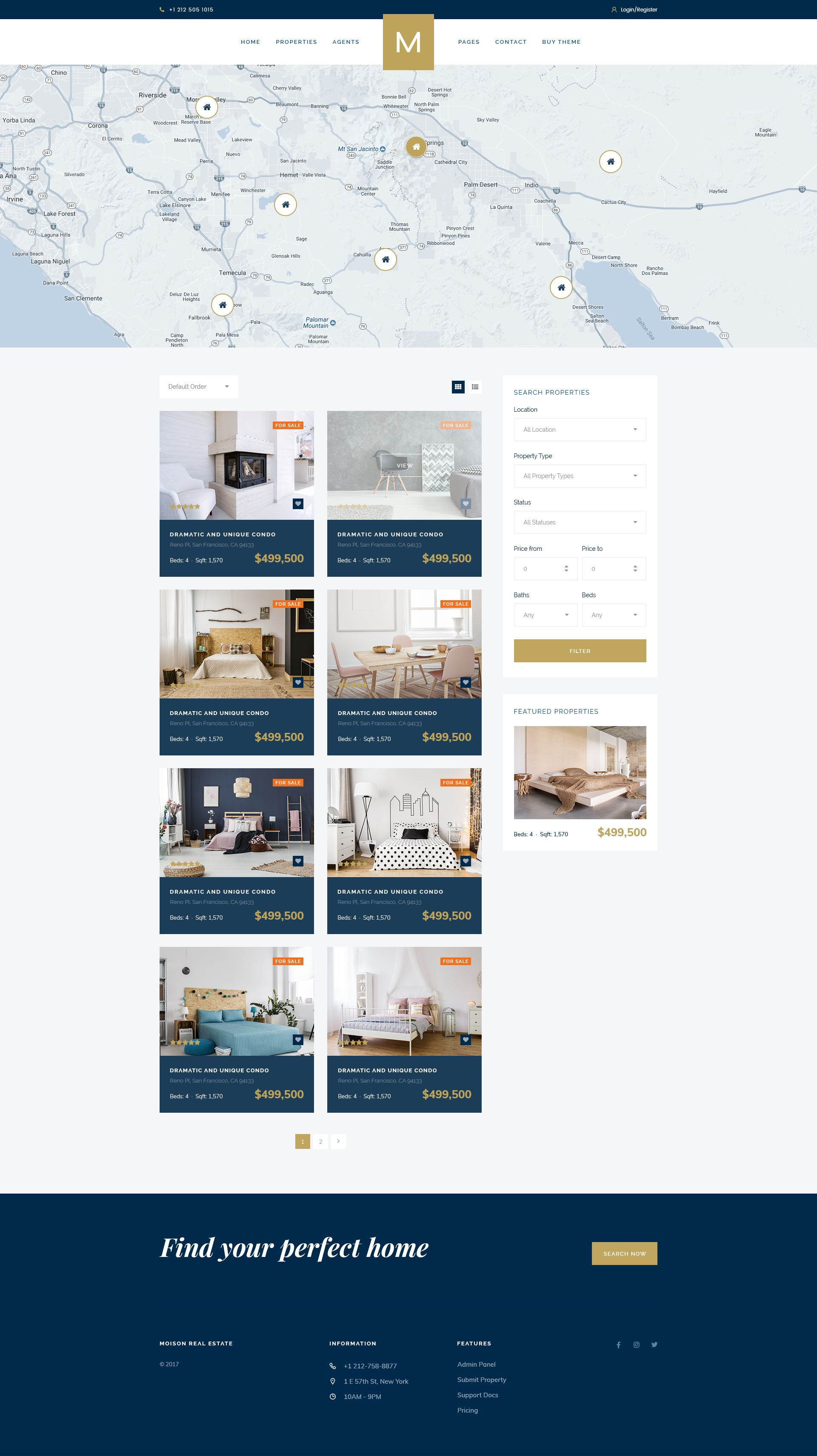 Moison - Luxury Real Estate Template