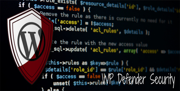 WP Defender (WordPress Plugin) - CodeCanyon Item for Sale