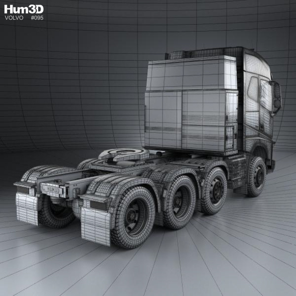 Volvo Fh 750 Globetrotter Cab Tractor Truck 4