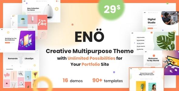 Eno - Portfolio Agency WordPress Theme