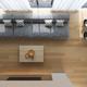 Interior of modern living room top view 3D rendering - PhotoDune Item for Sale
