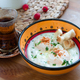 Cilbir, poached egg in yogurt with spiced butter and herbs, turkish cuisine - PhotoDune Item for Sale