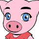 Pig Vector Mascot - GraphicRiver Item for Sale