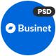 Businet - Multipurpose Business PSD Template - ThemeForest Item for Sale