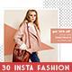 Instagram Fashion Banner Bundle - GraphicRiver Item for Sale