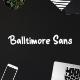 Balltimore Sans // Handlettering Sans - GraphicRiver Item for Sale