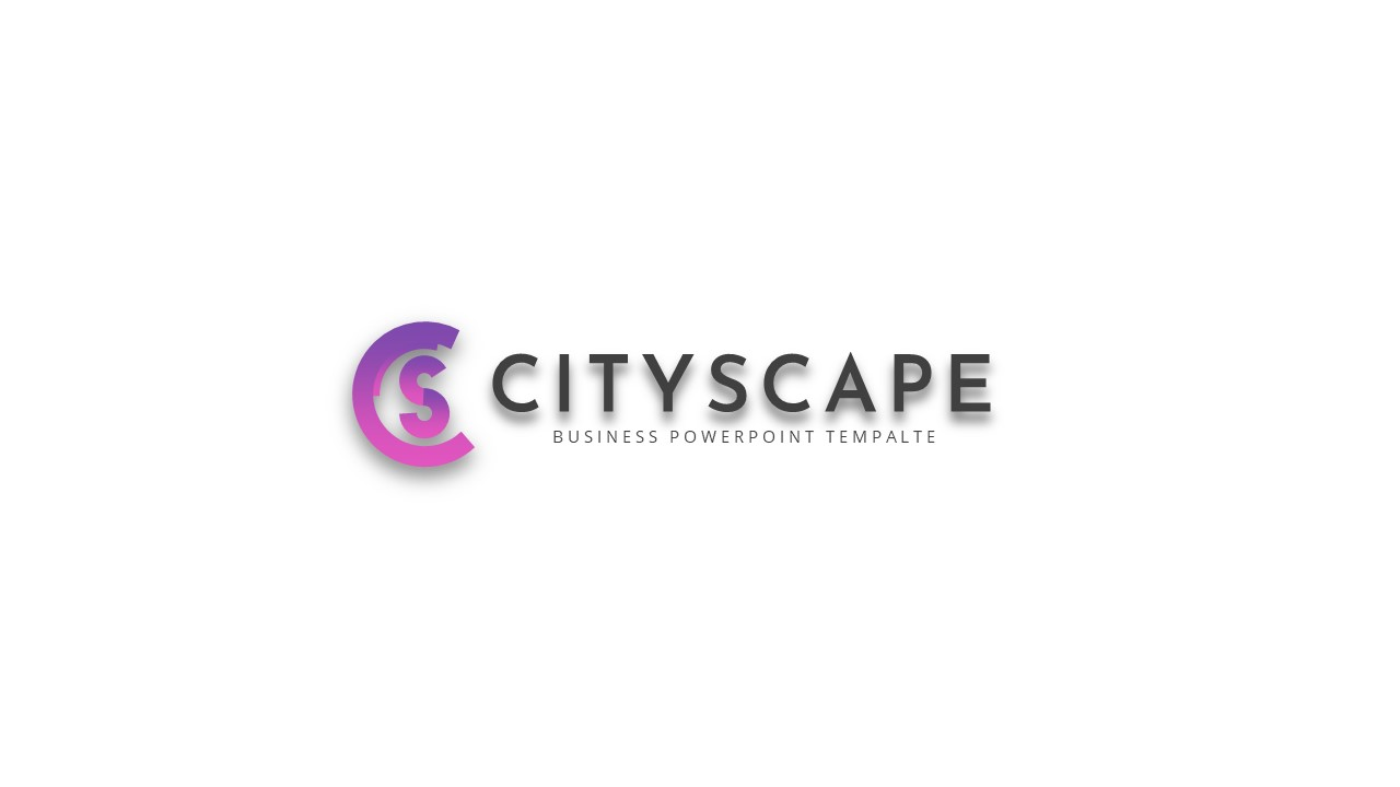 Cityscape Keynote Template