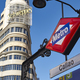 Madrid city center downtown with underground station and classic building - PhotoDune Item for Sale