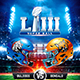 American Football Super Ball Flyer vol.11 - GraphicRiver Item for Sale