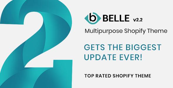 Belle - Multipurpose Shopify Theme - Fashion Shopify