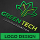 Green Technology Logo - GraphicRiver Item for Sale