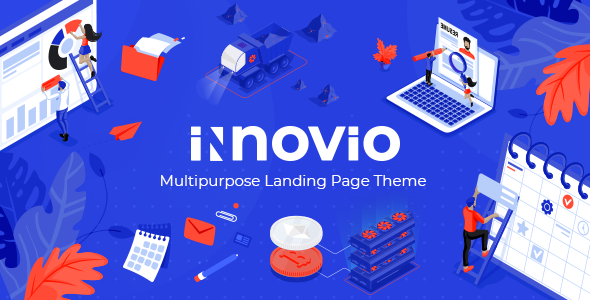 Innovio - Multipurpose Landing Page Theme - Marketing Corporate