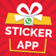 Emrys Online Sticker App for WhatsApp  with Admin Panel - Android Source Code - CodeCanyon Item for Sale