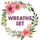 Watercolor Wreaths Collection (Set) - GraphicRiver Item for Sale