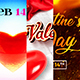 Valentine`s Day Facebook Covers - GraphicRiver Item for Sale