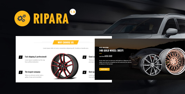 Ripara WooCommerce WordPress Theme