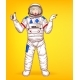 Vector Pop Art Spacewoman Points to Sales - GraphicRiver Item for Sale