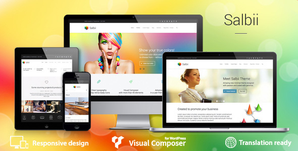 Salbii - Responsive Multi-Purpose WordPress Theme