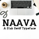 Naava A Slab Serif Font Family - GraphicRiver Item for Sale