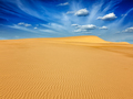 Desert sand dunes on sunrise - PhotoDune Item for Sale