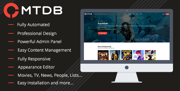 MTDb - Ultimate Movie & TV Database - CodeCanyon Item for Sale