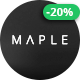 Maple | Clean Minimal Multi-Purpose WordPress Theme - ThemeForest Item for Sale