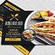 Restaurant Menu Postcard - GraphicRiver Item for Sale