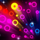 Abstract Flickering Neon Circles - VideoHive Item for Sale