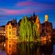 Famous view of Bruges, Belgium - PhotoDune Item for Sale