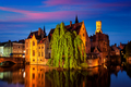 Famous view of Bruges, Belgium - PhotoDune Item for Sale