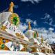 White chortens stupas in Ladakh, India - PhotoDune Item for Sale